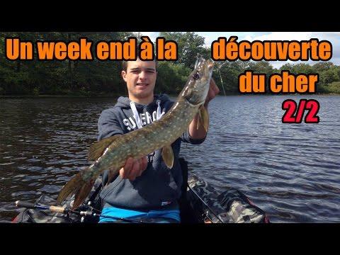 Gros Combat Brochet en Float Tube, Peche Carnassiers : Un Weekend à la découverte du Cher 2/2