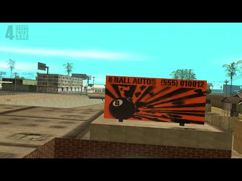 Пасхалки и Баги GTA San Andreas(Easter Eggs)#4