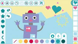 Digitalwerkstatt Art Studio - Creative App for Kids