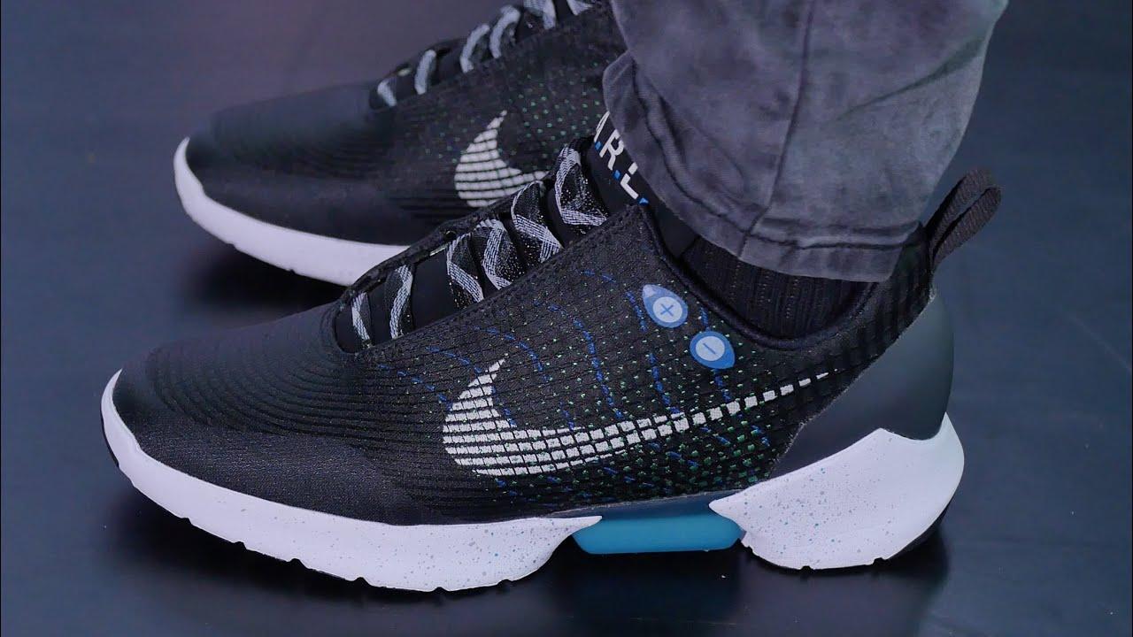 First Look: Nike's POWER-LACING Shoe - Nike HyperAdapt 1.0