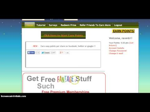 how to get free membership on fantage 2014