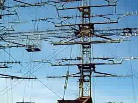 80m High Full Rotating Hf Broadcast Antenna Clip 2 Youtube