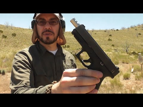 Glock 23 with Lone Wolf 40-9 Compensated Barrel