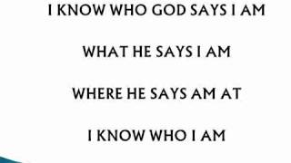 Sinach 'I Know Who I Am ' Lyrics