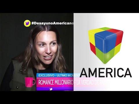 Pampita sobre los rumores de romance con un millonario: No lo conozco