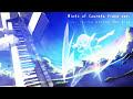 【蒼の彼方のフォーリズム BGM】 Wings of Courage piano ver. 弾いてみた 【楽譜】