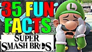 35 FUN FACTS For Super Smash Bros Ultimate