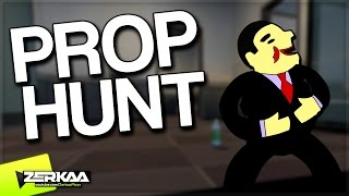 FUN IN THE OFFICES | Prop Hunt Funny Moments (Garry