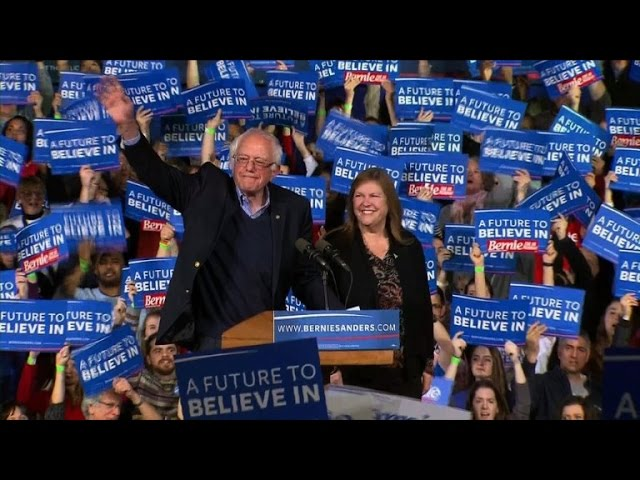 'Super Tuesday' win for Sanders in home state Vermont