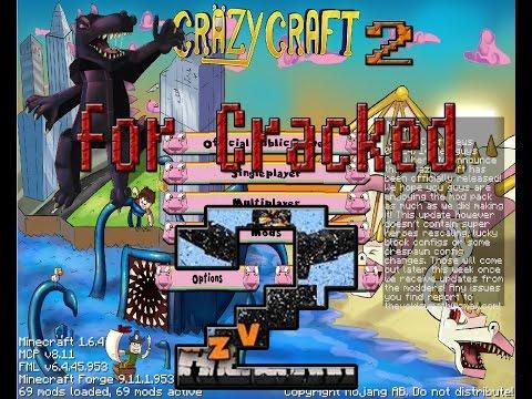 تحميل مود كرازي كرافت 2 للمكركة والاصلية download mod crazy craft 2 for cracked