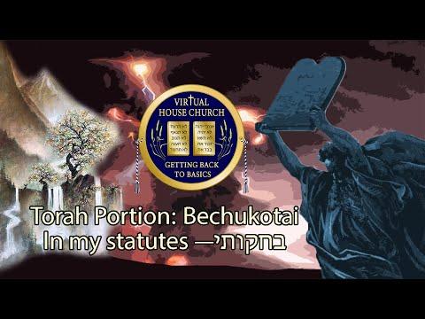 2021 Virtual House Church - Bible Study - Week 33: Bechukotai