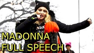 Madonna Women's March Speech