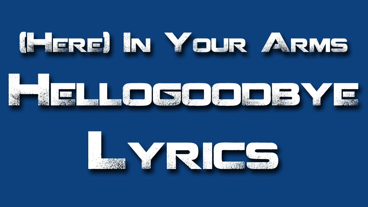Here in your arms acoustic - Hellogoodbye - YouTube