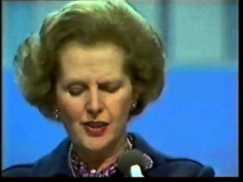 Margaret Thatcher Brighton Bomb Speech