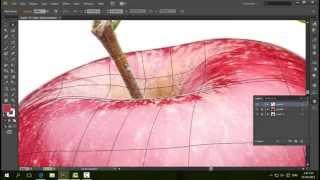Vẽ quả táo bằng illustrator