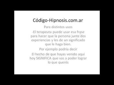 Hipnosis Conversacional Codigo Hipnosis Conversacional