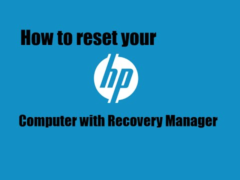 how to restore your computer to factory settings