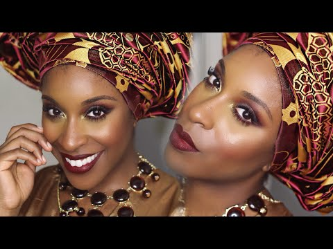 Nigerian GRWM Outfit of the Day | Makeup Game On Point