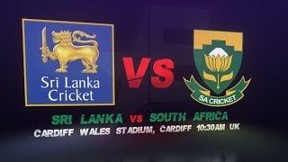 Sri Lanka vs South Africa , 2nd Warm-up game | ICC Cricket World Cup 2019