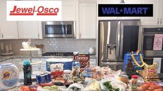 $380 Walmart and Jewel Grocery Haul // Keto & Low Carb Friendly //January 2019