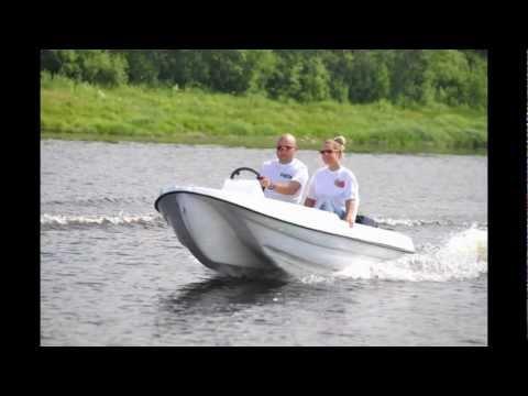 лодка из пластика лакер купить