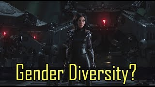 Gender Diversity in JC Movies, Anime and Battle Angel Alita