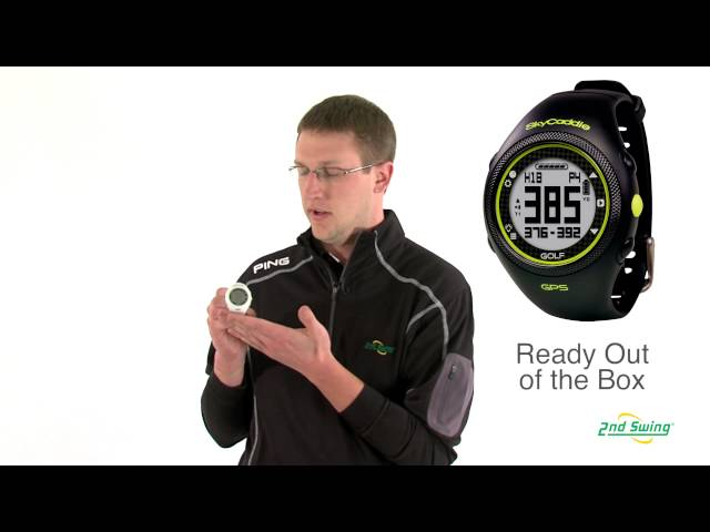 SkyCaddie Watch Golf GPS Rangefinder Review