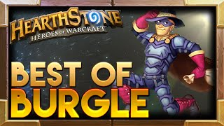 Burgle Hearthstone Moments | Hearthstone Funny Lucky Best Plays Moments