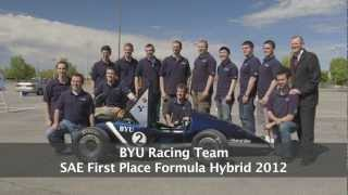 BYU Formula Hybrid Wins First Place in 2012 Competition