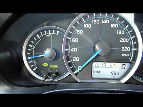 Toyota Yaris Hybrid HSD 3.7l/100km mix fuel consumption