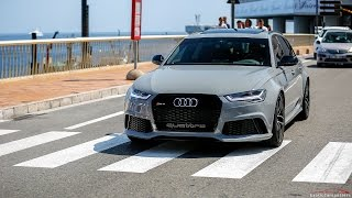 730 HP Audi RS6 C7 w/ Milltek Exhaust - Start Up & LOUD Accelerations !