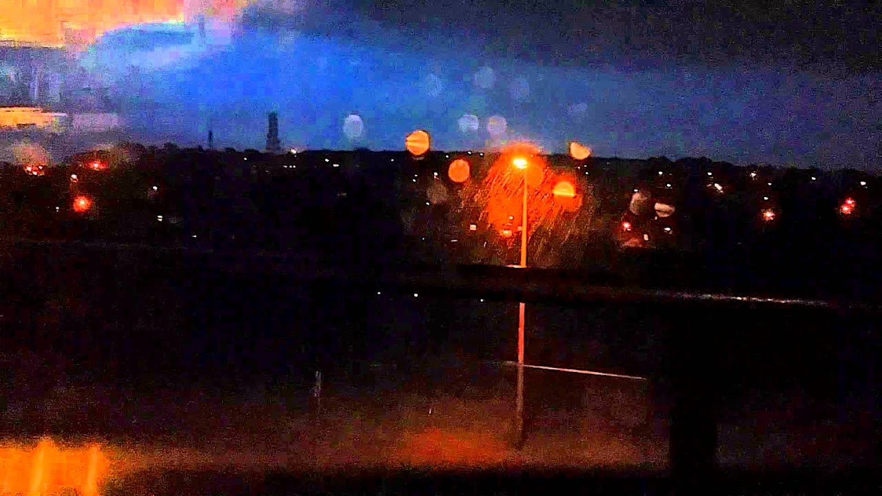 Scary Lightning Strikes My Building YouTube