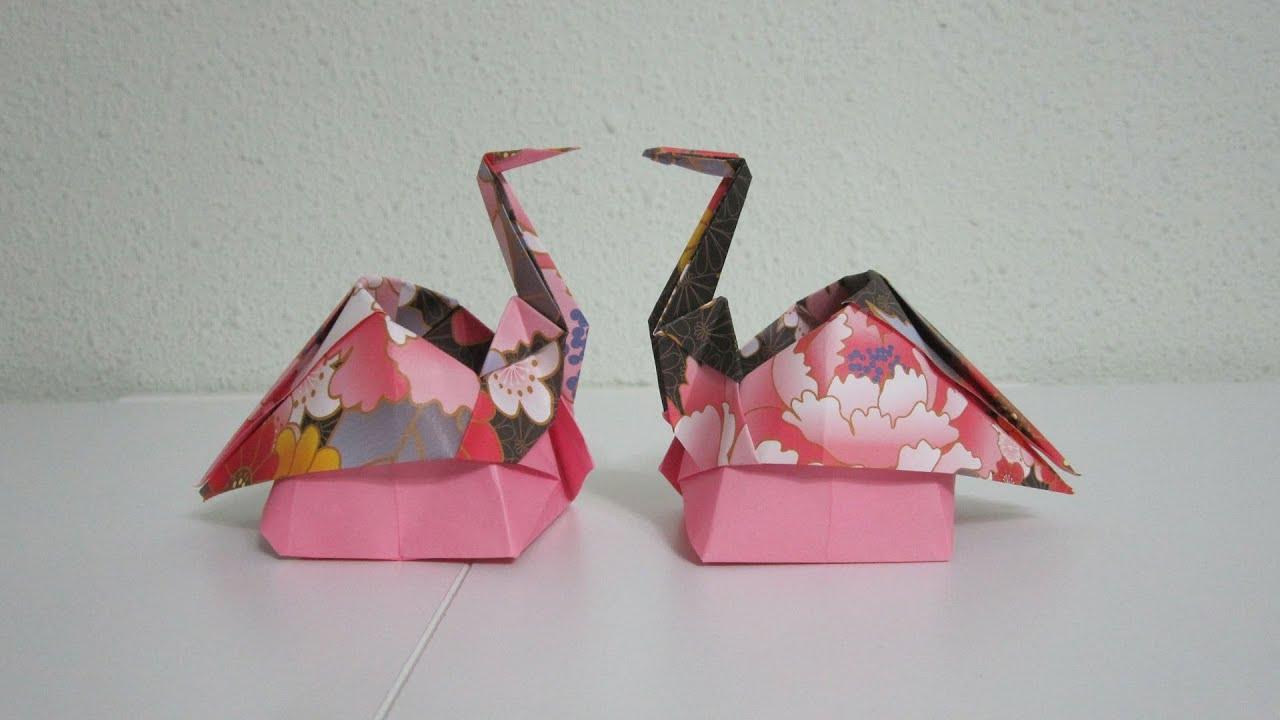 Tutorial origami sitting crane creator kazukuni endo for Crane tutorial