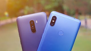 Redmi Note 6 Pro vs POCO F1 Detailed Camera Comparison