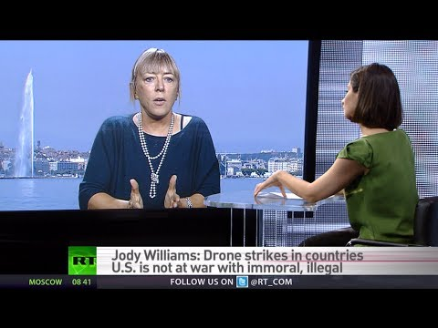 'Autonomous 'killer robots' could replace drones soon' - Nobel Peace Prize winner Jody Williams