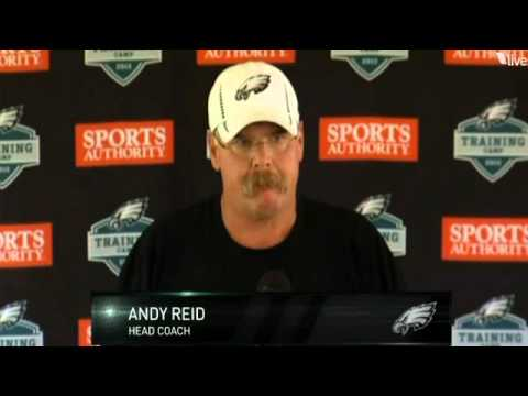 andy reid weight loss
