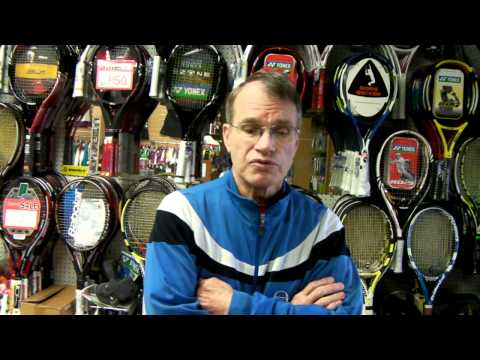 a guide to selecting a tennis racket