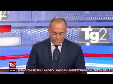 TG2 su M5S Circo Massimo - Grillo alla discarica Sanremo