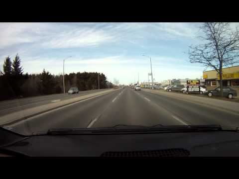 Drive through Cambridge Ontario (Feb. 8th, 2012)