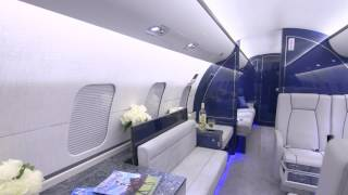 Bombardier Global Express Paint and Interior Refurbishment