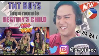 Vocalist Reacts to TNT Boys as Destiny's Child - Survivor | Your Face Sounds Familiar Kids 2018
