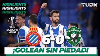 Highlights | Espanyol 6 - 0 Ludogorets | Europa League - J4 - Grupo H | TUDN