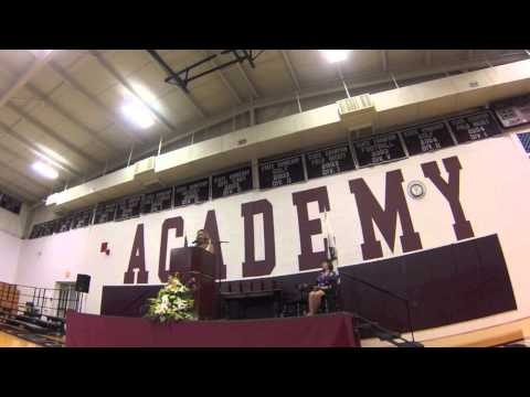 The Columbus Academy Commencement Speech by Pro Triathlete Meredith Kessler - 06/21/2013
