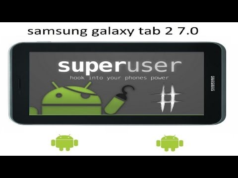 Como rootear galaxy tab 2 7.0 android 4.0.3 [GT-P3100 - GT-P3110 - GT-P3113]