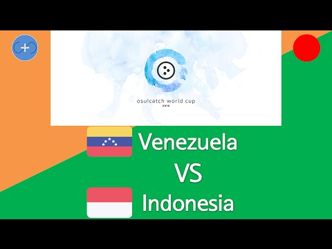 osu!catch World Cup 2016 Group Stage - Group A - Venezuela vs Indonesia