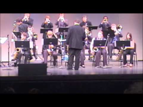 Valley High School Jazz Orchestra Iowa Jazz Championships 2010- Mr. Beautiful Walks His Pet Pig