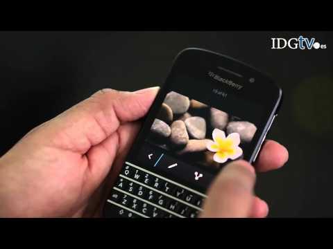 BlackBerry Q10: Unboxing y características