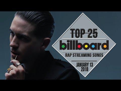 Top 25 • Billboard Rap Songs • January 13, 2018 | Streaming-Charts