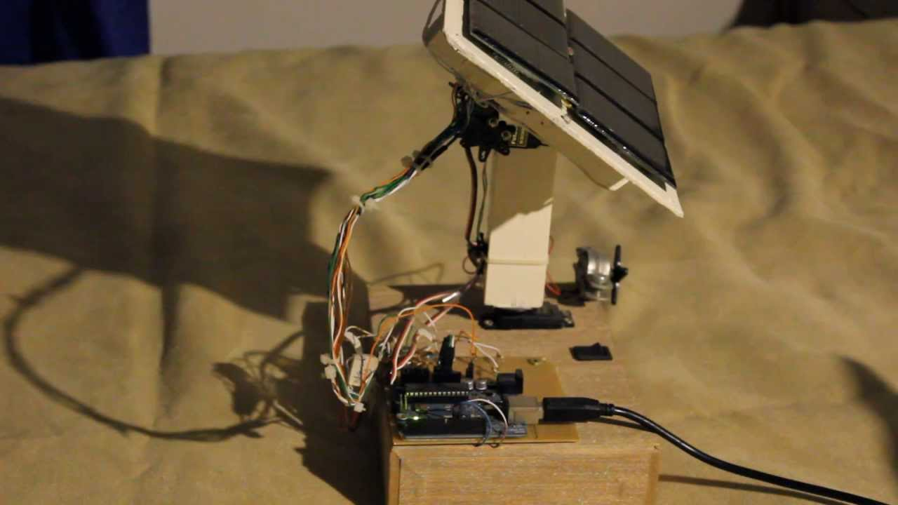 Solar Panel Tracking System With Arduino Uno Youtube