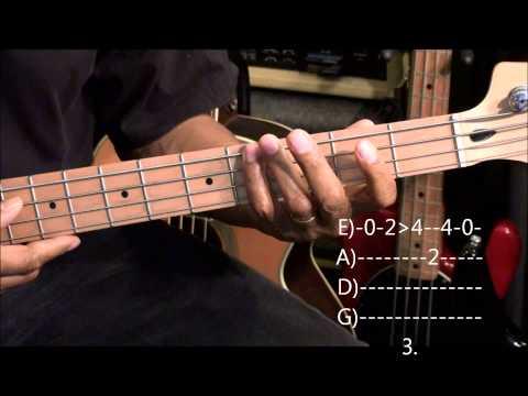 Meghan Trainor All About That Bass Bass Guitar Lesson Ericblackmonmusichd video